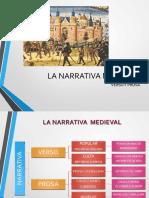 LA EDAD MEDIA. Narrativa Medieval (1)