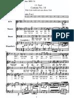 BWV 14 W_r Gott Nicht Mit Uns Diese Zeit