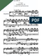 BWV 23 Du Wahrer Gott Und Davids Sohn