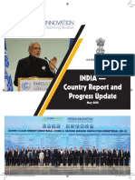 INDIA Country Report Mission Innovation May18
