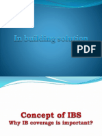 In building solution