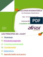 Support Synthétique Formation Audit Interne ISO 19011v2018