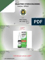 AZEP® (azelastine hydrochloride) PPT