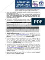 Operating Guidelines MMC Document No. 2