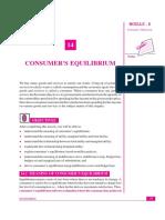 Consumers Equilibrium