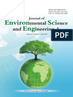 Journal of Environmental Science and Engineering,Vol.7,No.4A,2018