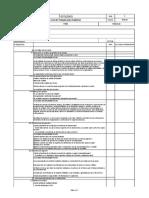Fo05-Gc-03 Lista de Chequeo Para Auditoria