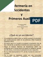 1° clase, Enfermeria en accidentes y primeros auxiios, 2017