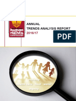 SAHRC Trend Analysis 2016 - 2017