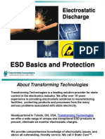 Electro Static Discharge Basics by Transforming Technologies 110304151906 Phpapp01