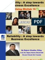Reliability Analysis for Business Excellence