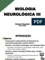 Semio Neurolgica III Apostila Nicandro