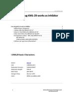 How Drug KML-29 Works as Inhibitor