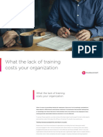 Pluralsight Guide Cost of Lack of Training