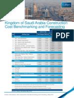 KSA Construction Cost Benchmarking May 2016