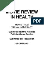 Miracle Cell No. 7 - Teejay Ikan