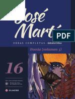 Jose Marti Tomo 16