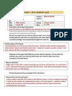 reflection lesson plan 3