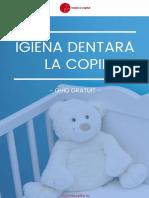 Igiena Dentara La Copii - Mami Si Copilul