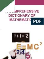 Comprahensive Math Dictionary