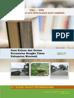 Dokumen Ukl Upl Pt. Ovi Lengkap