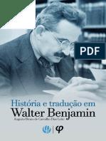 DE CARVALHO - História e Tradução em Walter Benjamin.pdf