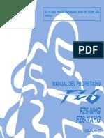 Yamaha FZ6 - Manual de Propietario