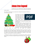 Christmas Tree Reading Comprehension Exercises