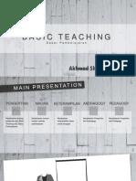 Basic Teaching