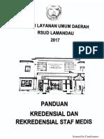 Regulasi Kredensial Dan Rekredensial Staf Medis