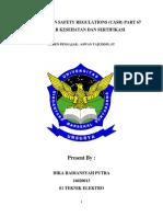 MAKALAH CIVIL AVIATION SAFETY REGULATIONS.docx (DIKA RADIANSYAH PUTRA).docx