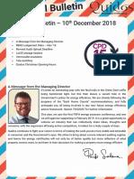 Quidos Technical Bulletin - 10/12/2018