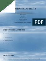 Ship Hydroelasticity