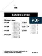 Caterpillar Cat GC30K Forklift Lift Trucks Service Repair Manual SN:AT83C-00011 and up.pdf