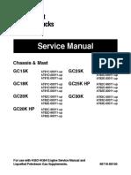 Caterpillar Cat GC30K Forklift Lift Trucks Service Repair Manual SN:AT83E-00011 and up.pdf