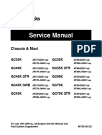 Caterpillar Cat GC70K Forklift Lift Trucks Service Repair Manual SN:AT89-00001 and up.pdf