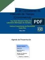 Presentacion Cronometros LMVE Dia de La Metrologia