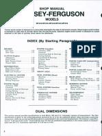Massey Ferguson MF 250 Tractor Service Repair Manual.pdf