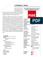 History of PSOE