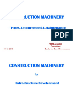 Construction Machinery-presentation 9-1-15