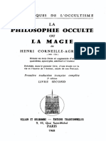 Agrippa Henri-Corneille - La Philosophie Occulte Ou La Magie Livre 2