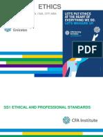 Cfa Level i Ethics 2018 t