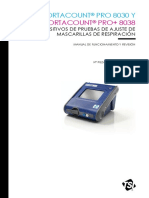 PortaCountPro Manual 6001871 ES Web
