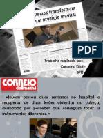 Notícia Português