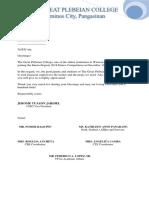 Gpc Solicitation