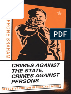 Crimes Against The State Crimes Against Persons Detective