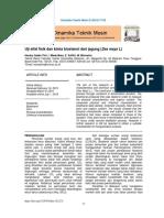 Karakteristik Fisik Dan Kimia Bioetanol Dari Jagun