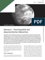 Demenz - Homöopathie Bei Desorientierten Menschen
