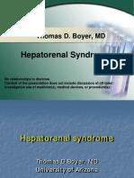 Hepato Renal Syndrome Boyer