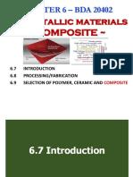 Chap 6 3 (BDA20402) Non-Metallic Composite (Sem 1 20182019)